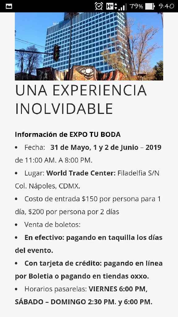 Ayudaaaaa!!! Expo Boda CDMX - 1