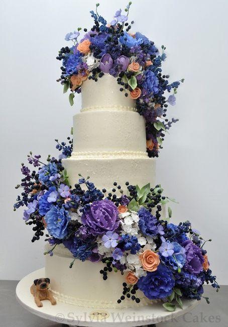 Pasteles de boda Sylvia Weinstock 🎂🌸 7