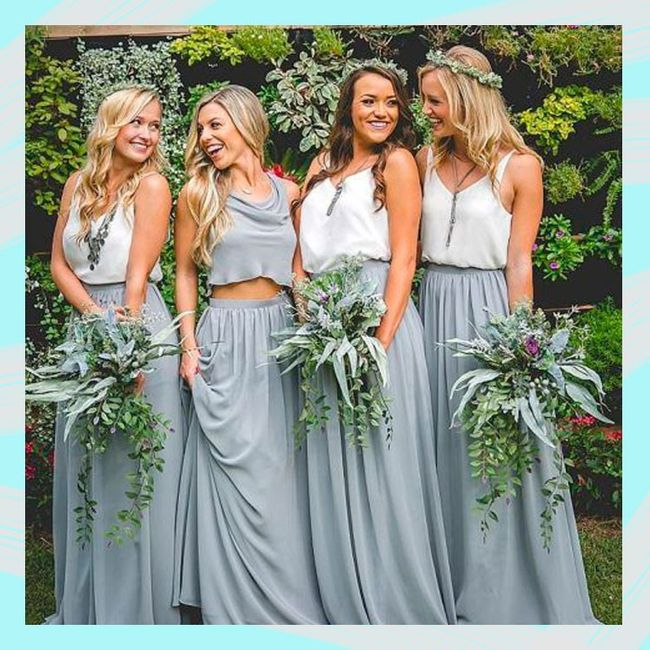 Vestidos de damas de honor 13