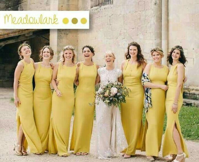 Vestidos de damas de honor 14