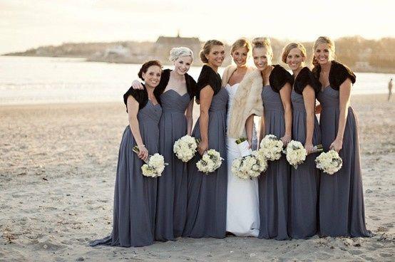 Vestidos de damas de honor 15