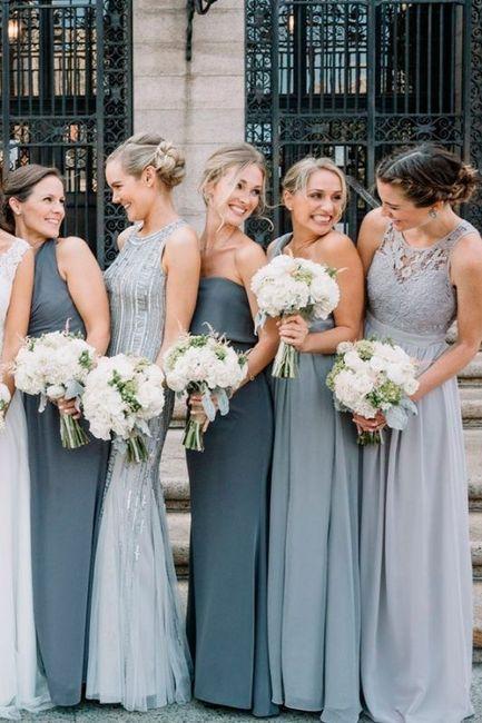 Vestidos de damas de honor 16