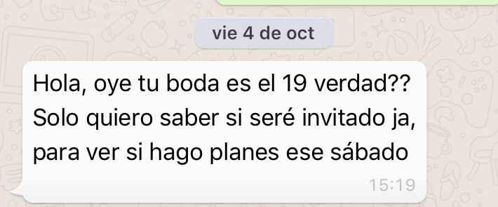 Invitados extras - 1
