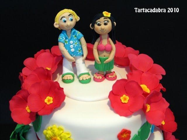 Matrimonio Tema Hawaiano : Pasteles hawayano imagui