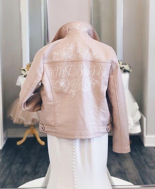 Bride 👰🏽 jacket 🧥 12