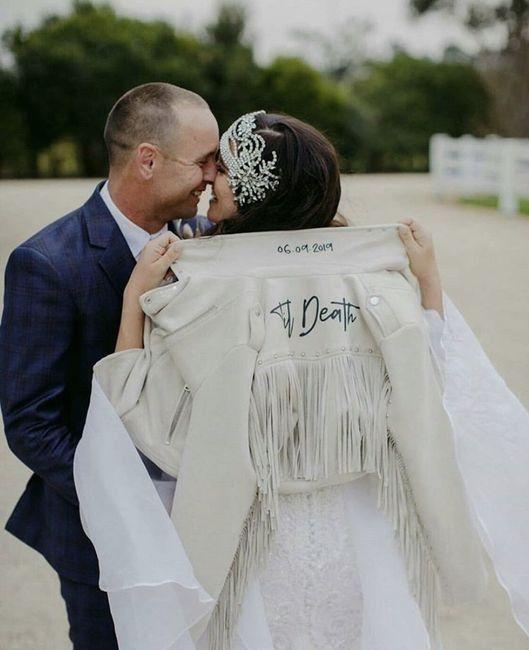 Bride 👰🏽 jacket 🧥 13