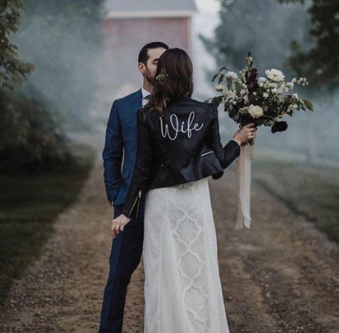 Bride 👰🏽 jacket 🧥 14
