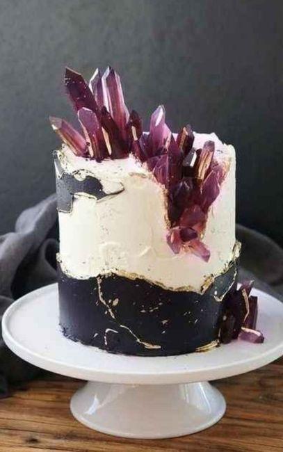 """Hermosos pasteles de """"cuarzo"""" 25"""