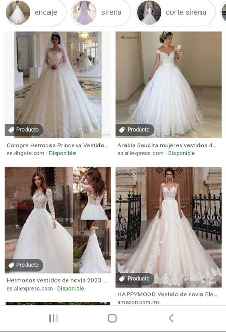 """[JUEGO] Si Googleas """"Vestido de novia""""... 7"""