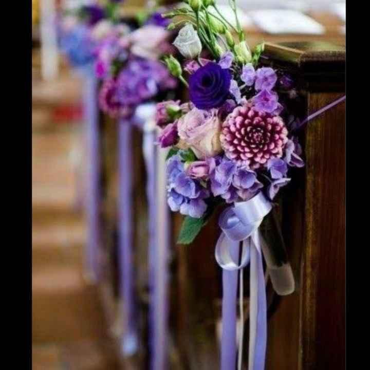 💜 Decoración en la ceremonia - 1