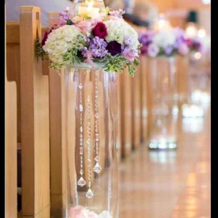 💜 Decoración en la ceremonia - 2