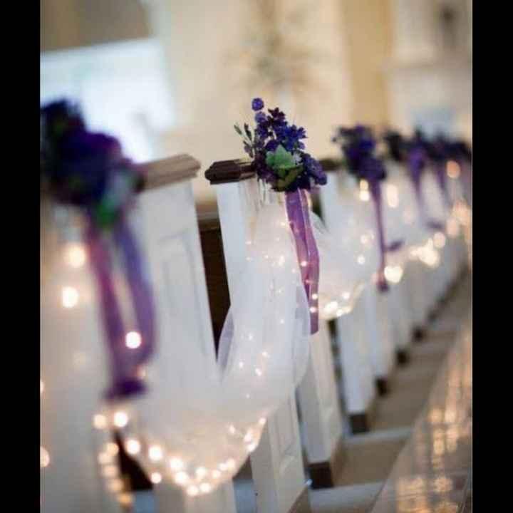 💜 Decoración en la ceremonia - 3
