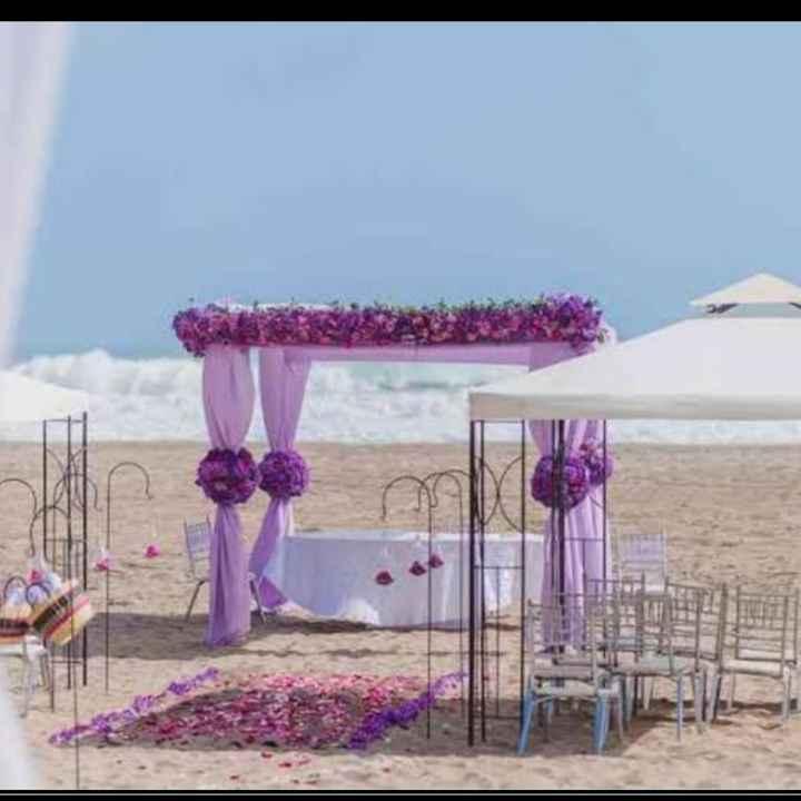 💜 Decoración en la ceremonia - 7