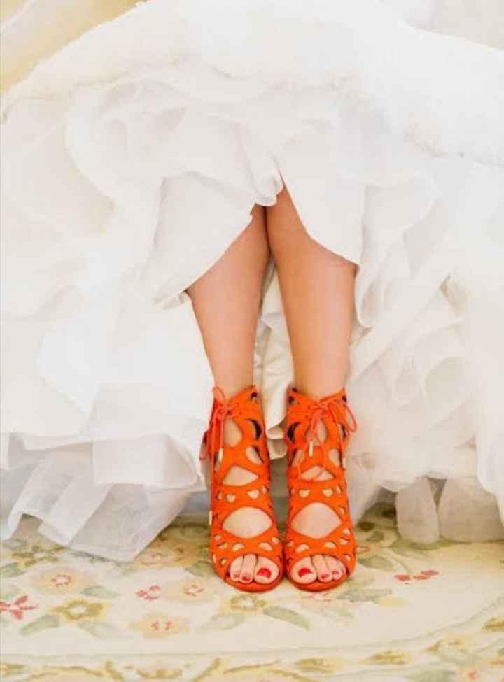 Que les parece estos zapatos para su gran día 🌈 - 4