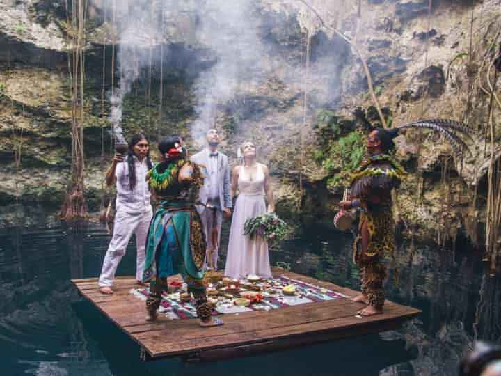 Ceremonia espiritual entrega 1 maya - 2