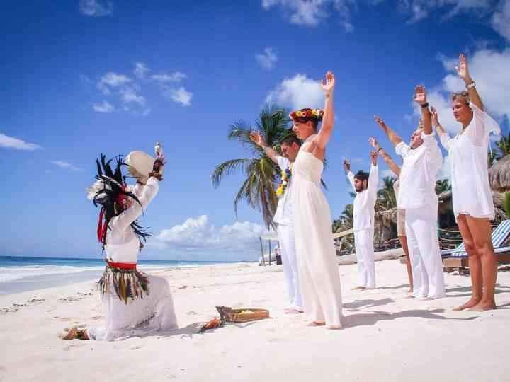 Ceremonia espiritual entrega 1 maya - 4
