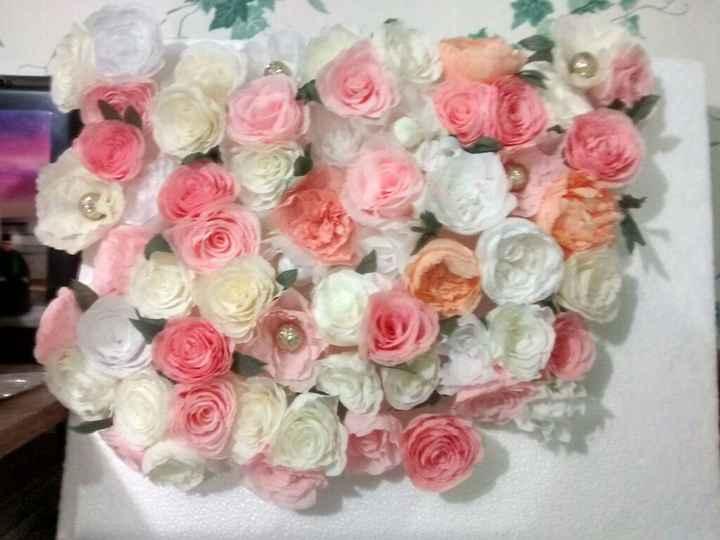 Flores de papel crepe - 2