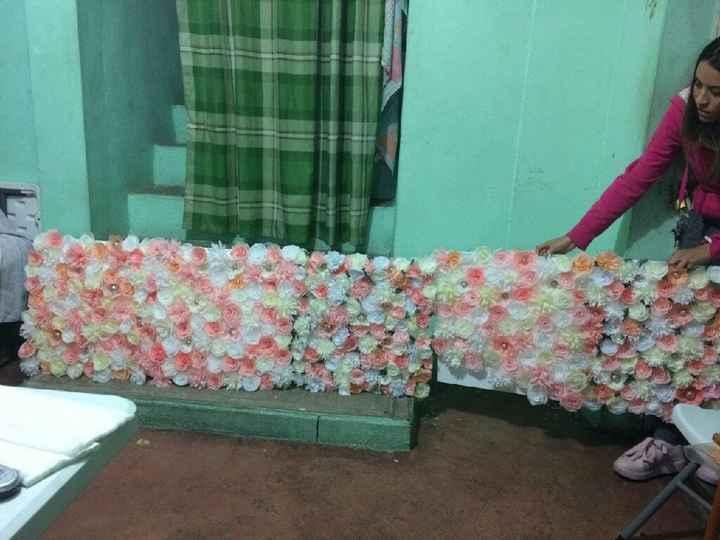 Flores de papel crepe - 3