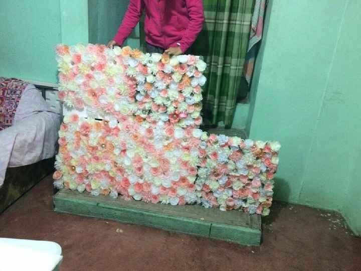 Flores de papel crepe - 4