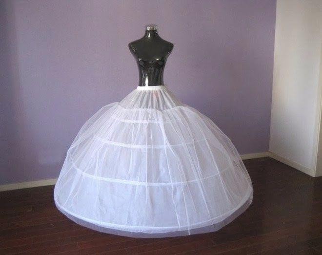 Como hacer crinolina para vestido de novia