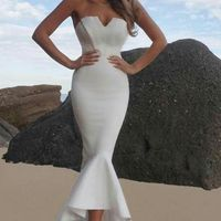 Opciones de vestidos para boda por el civil - 2