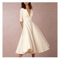 Opciones de vestidos para boda por el civil - 5
