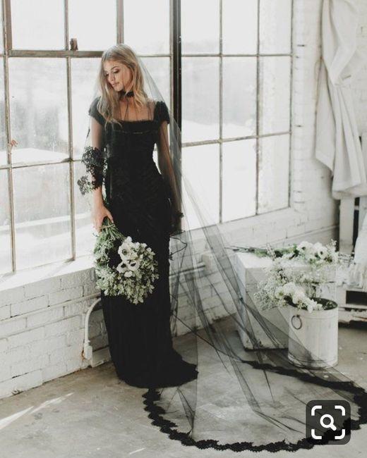 3fa69a30 ... negro.... pero ¿se atreverían a usar un velo negro o con detalles  negros junto con su vestido blanco? Les comparto unas imágenes de cómo se  vería