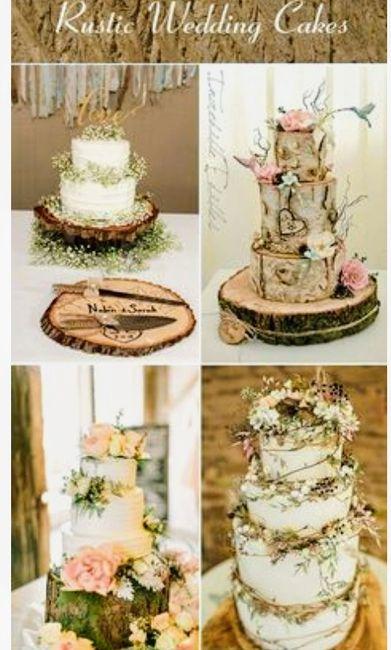 Decoración troncos de madera boda vintage o Rústica. Centros de mesa,base pastel y más. 12