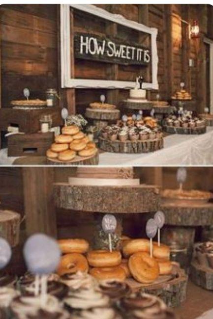 Decoración troncos de madera boda vintage o Rústica. Centros de mesa,base pastel y más. 18