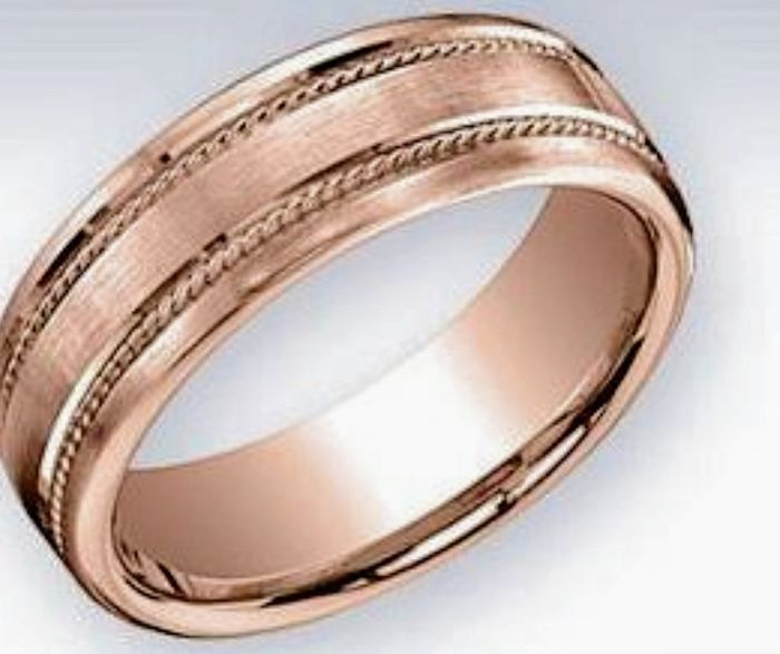 dfa9448ab191 Anillos de boda en oro rosa.contenido de oro y de inspiración ...