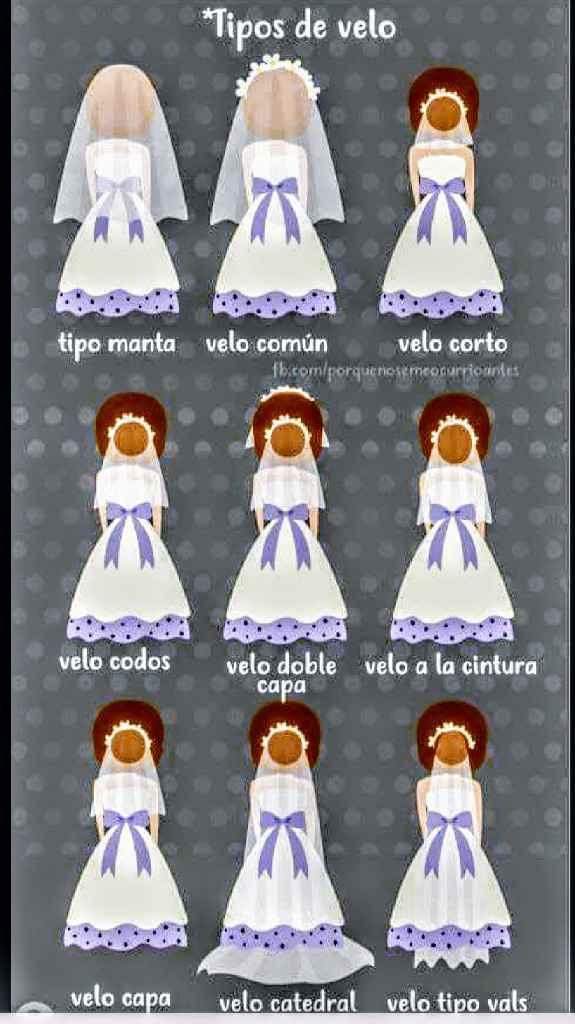 Encontré mi vestido 😍💕, pero no sé cuál velo queda mejor 🤔. - 1