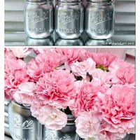Mason jars...boda vintage - 21