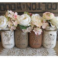 Mason jars...boda vintage - 25