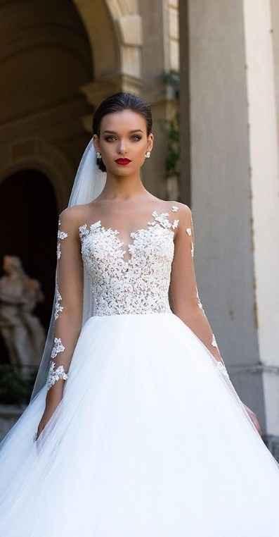 look bonito de novia