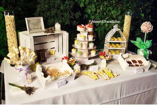 Ideas para la mesa de dulces foro banquetes for Mesas dulces para bodas