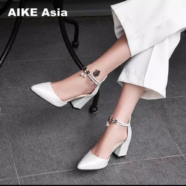 Zapatos para el día b por Aliexpress 👠👰🏻 1