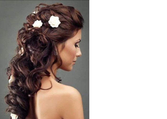 Imagenes de peinados para la boda