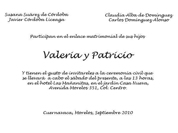 Invitaciones para boda civil - Foro Bodas.com.mx - bodas.com.mx