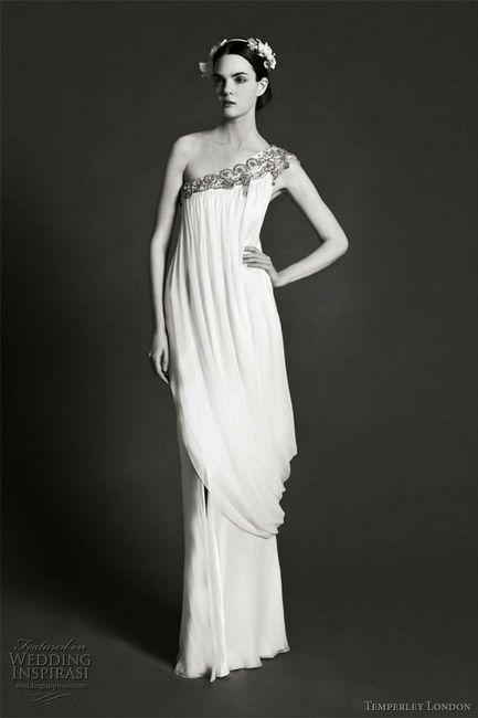 Tu vestido de novia con inspiración en diosas griegas 1