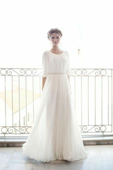 Tu vestido de novia con inspiración en diosas griegas 2