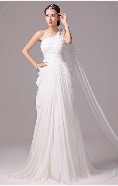 Tu vestido de novia con inspiración en diosas griegas 3