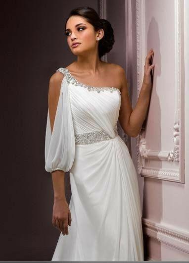 tu vestido de novia con inspiración en diosas griegas - foro moda