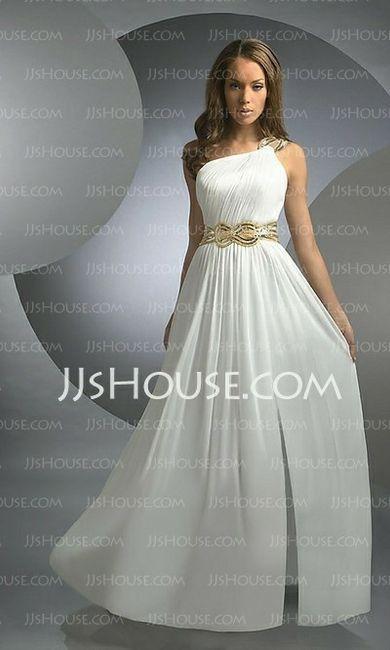 Tu vestido de novia con inspiración en diosas griegas 7