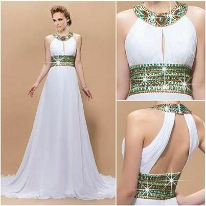 Tu vestido de novia con inspiración en diosas griegas 8