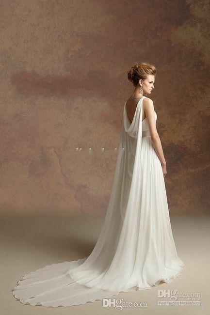Tu vestido de novia con inspiración en diosas griegas 9