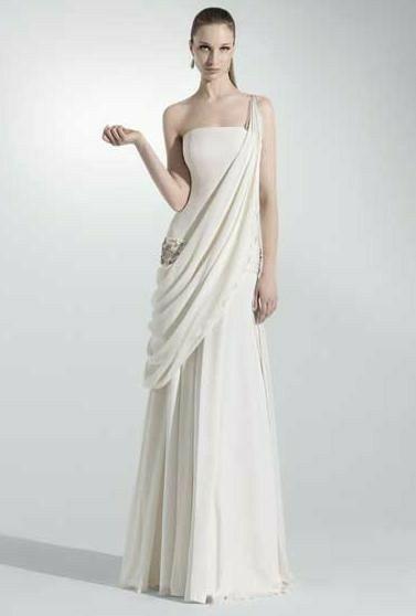 Tu vestido de novia con inspiración en diosas griegas 11
