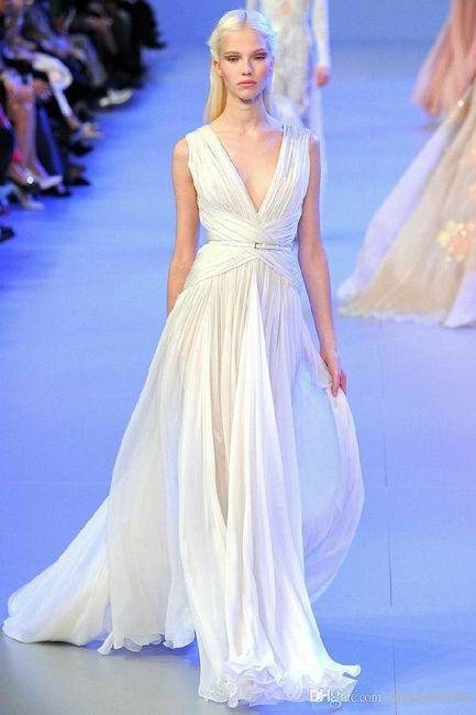 Tu vestido de novia con inspiración en diosas griegas 13