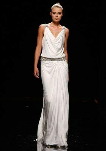 Tu vestido de novia con inspiración en diosas griegas 14