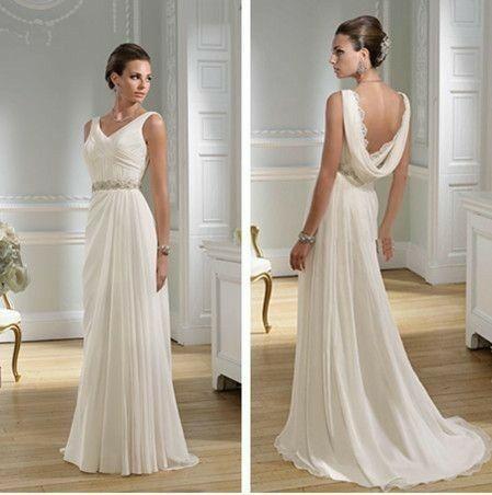 Tu vestido de novia con inspiración en diosas griegas 15