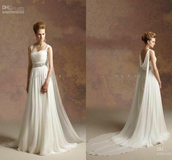 Tu vestido de novia con inspiración en diosas griegas 17